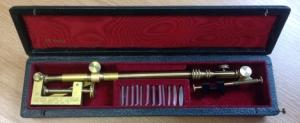 Brass Camera Lucida in carrying case, ca. 1860's