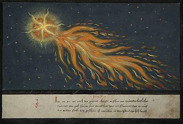 Augsburger Wunderzeichenbuch, Folio 28, c. 1552