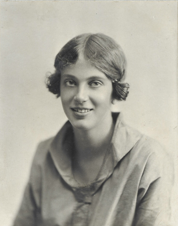Dorothy Hodgkin (then Crowfoot) ca. 1920s, as she was when she excavated at Jerash in her late teens (with thanks to the Crowfoot family for providing this image - All Rights Reserved)