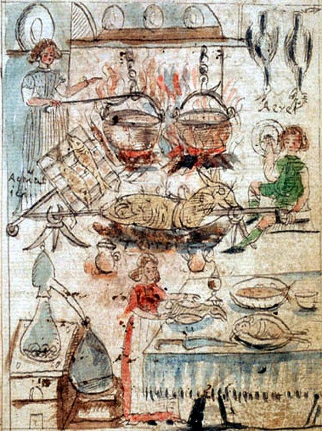 """Tesoro del Mondo, """"Ars Preparatio Animalium"""" Antonio Neri 1598-1600, f. 10r (MS Ferguson 67)."""
