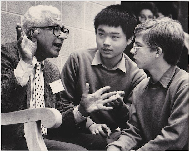 James Tauber (14) meeting Murray Gell-Mann