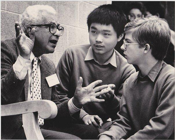 James Tauber (14) meeting Murray Gell-Mann
