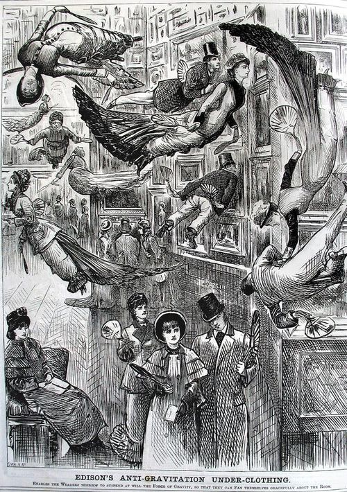 The London Punch via Ptak Science Books