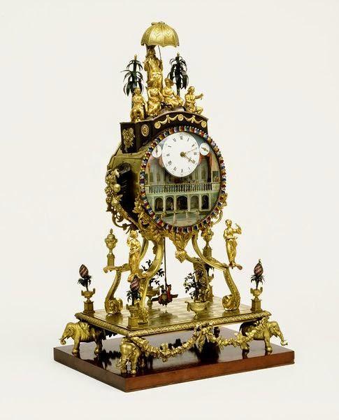 A Musical Automaton Clock