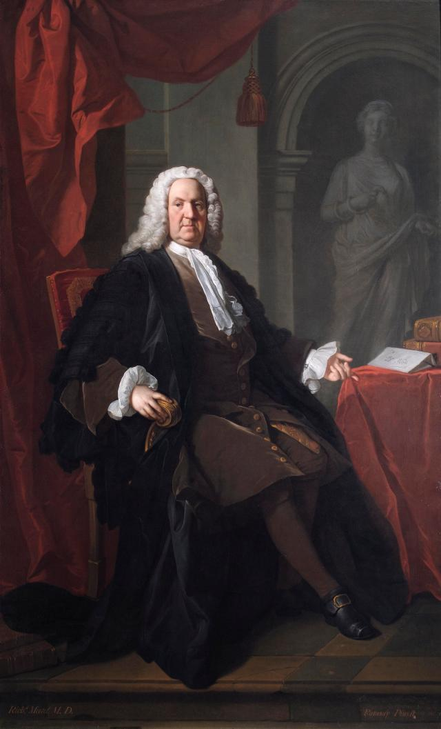 Allan Ramsay, Dr Richard Mead, 1747, oil on canvas. Image courtesy of Coram in the care of the Foundling Museum