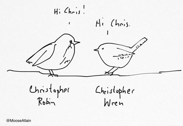 Cartoon by Moose Allain