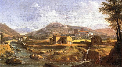 View of Badia Fiesolana - Gaspar Van Wittel called 'Vanvitelli' (1652/3-1736)