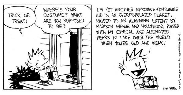 Calvin Halloween