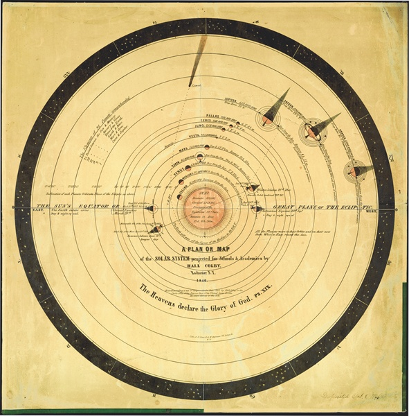 Planet Vulcan 1846 A.D. Library of Congress