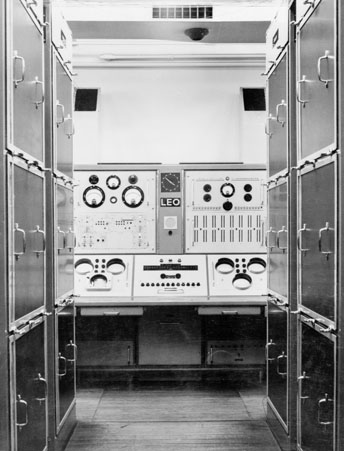 Leo I electronic computer, c 1960s (Image: Science Museum)