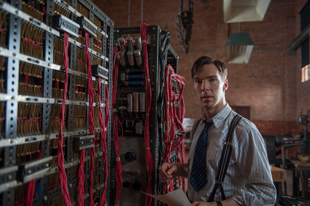 BENEDICT CUMBERBATCH stars in THE IMITATION GAME (Film still)