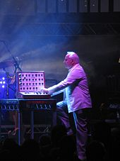 Dick Mills, BBC Radiophonic Workshop reunion live at the Roundhouse in 2009. Source: Wikimedia Commons