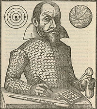 Simon Marius portrait from Mundus Iovialis 1614 Source:Wikimedia Commons
