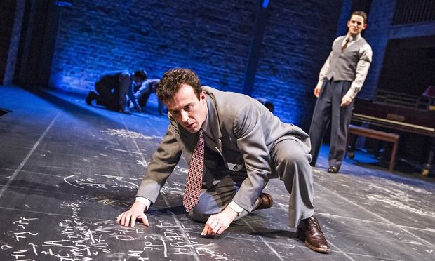 Intoxicating excitement' … John Heffernan as Robert Oppenheimer and Ben Allen as Edward Teller in Oppenheimer at Stratford. Photograph: Tristram Kenton for the Guardian