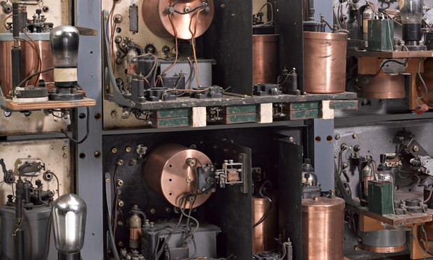 The apparatus used by Robert Watson-Watt in 1935 to demonstrate radar technology. Photograph: Jennie Hills/Science Museum