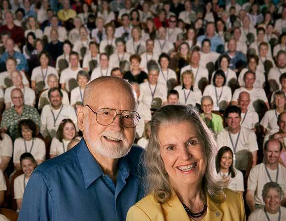 Dorothy Thomas and her husband, Dr. E. Donnall Thomas. The couple worked together on research into transplants that could cure dying patients of leukemia.  Credit Jim Linna