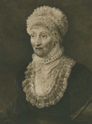 Portrait of Caroline Lucretia Herschel
