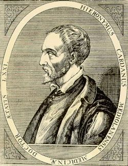 Gerolamo Cardano Source: Wikimedia Commons