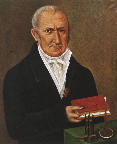 Alessandro Giuseppe Antonio Anastasio Volta Source: Wikimedia Commons