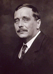 Wells photographed by George Charles Beresford in 1920
