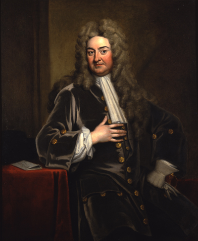 John Radcliffe (1652–1714) Oil on canvas by Godfrey Kneller, early 18th century