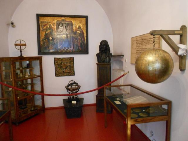 The Copernicus Room in the Krakow Academy, where Copernicus studied between 1491 and 1495