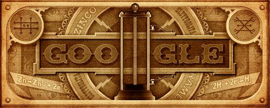 Volta Google doodle