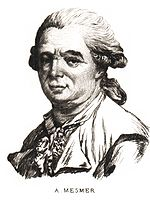 Franz Anton Mesmer Source: Wikimedia Commons