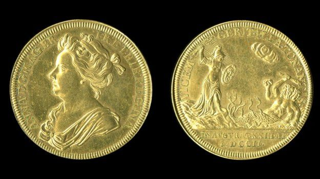 Queen Anne Medal Source: BBC News