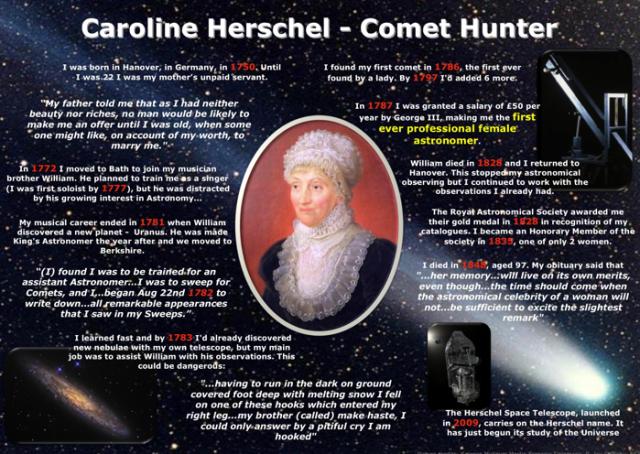 C Herschel poster