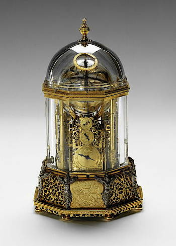 Bürgi Rock Crystal Clock Source: Wikimedia Commons