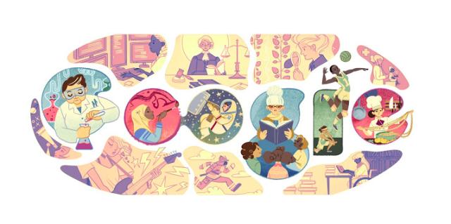 Google Doodle IWD