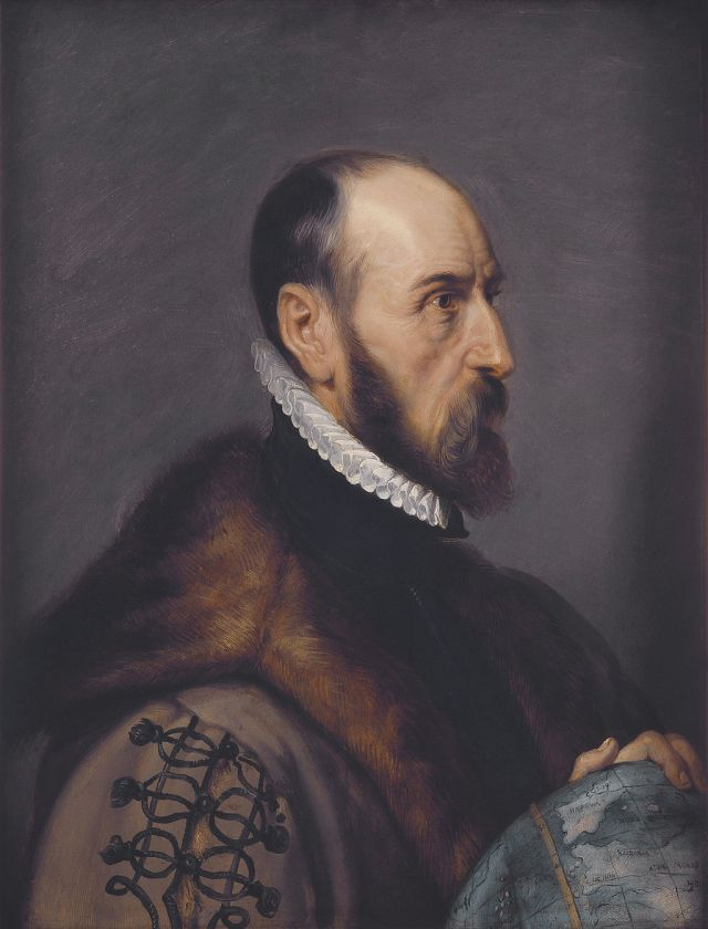 Abraham Ortelius by Peter Paul Rubens Source: Wikimedia Commons