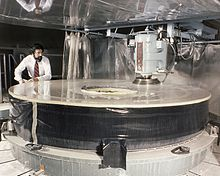 Grinding of Hubble's primary mirror at Perkin-Elmer, March 1979 Source: Wikimedia Commons