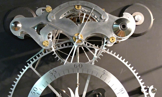 The Burgess B clock trial revealed the truth of the claim by John Harrison that he could build a land timepiece to keep time to within a second over 100 days.  Photograph: National Maritime Museum /.