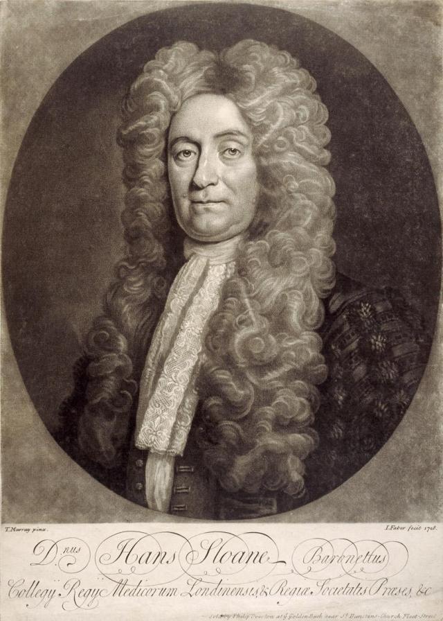 Hans Sloane Source: British Museum