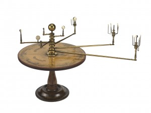 Margaret Maskelyne's Orrery, by William Jones, ZBA4664. Source: Royal Museums Greenwich