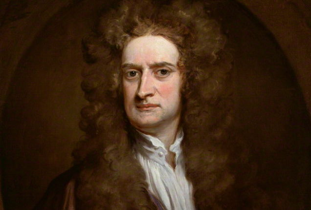 Isaac Newton Source: Wikimedia Commons