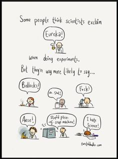 Cartoon How Scientist THink