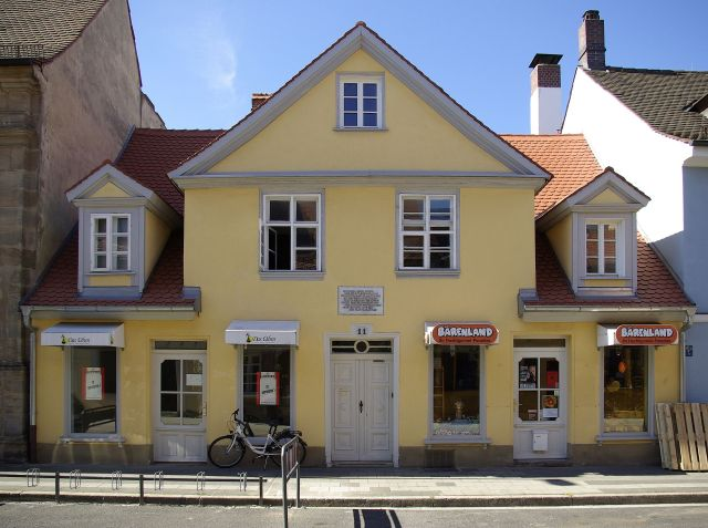 The Ohm House in Erlangen Source: Wikimedia Commons
