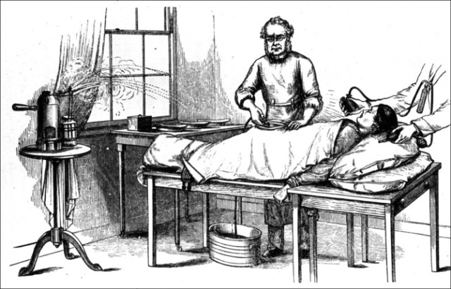 Doctor performing ovariotomy (London, 1882) The National Library Of Medicine