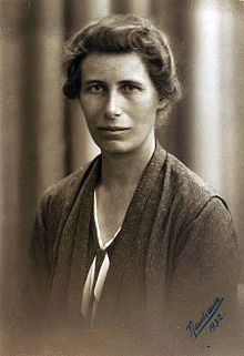 Inge Lehmann in 1932 Source: Wikimedia Commons