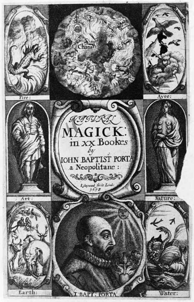 Natural Magick, by Giambattista della Porta