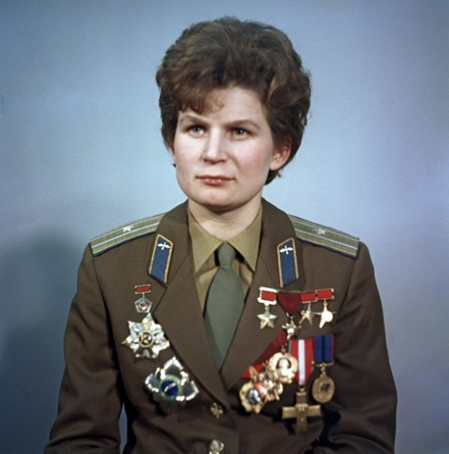 Valentina Tereshkova became the first woman in space during the Vostok 6 mission, which lifted off in June 1963. Photo Credit: Commons / Ria Novosti