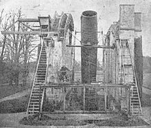 The largest telescope of the 19th century, the Leviathan of Parsonstown. Source: Wikimedia Commons