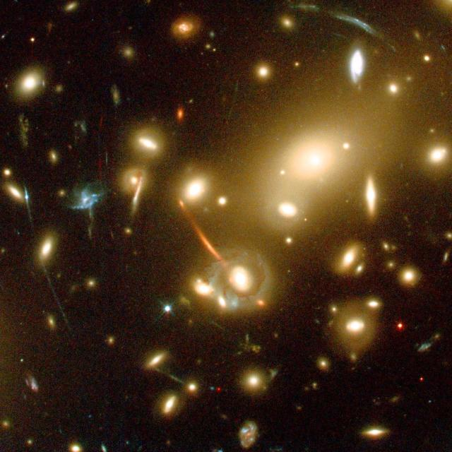 A galaxy discovered in 2004 was identified by combining the power of the Hubble telescope and telescopes on Mauna Kea. ESA, NASA VIA REUTERS