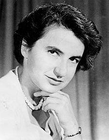 Rosalind Elsie Franklin Source: Wikimedia Commons