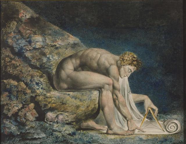 Newton 1795/c.1805 William Blake 1757-1827 Presented by W. Graham Robertson 1939 http://www.tate.org.uk/art/work/N05058