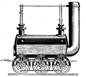 Getting up steam: Stephenson's 'Blucher', 1814