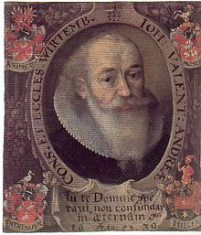 Johannes Valentinus Andreae Source: Wikimedia Commons